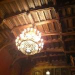 even the detail in the ceiling is paled by the food here
