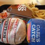 The huge burgers we get