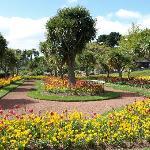 Torre Abbey Gardens 2-3 mins walk