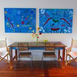 Breakfast Table & Artwork