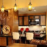 Executive Suite Kitchen Area