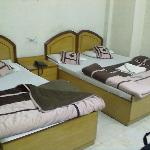beds in the triple dx room