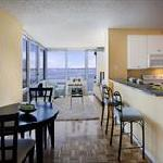 Apartments come with fully equipped kitchens