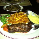 Gaslight steak frites with béarnaise and sautéed mushrooms 3/20/12