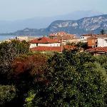 View of Lake Garda from third floor room.
