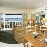 Charter Club Resort Dining/Living Area