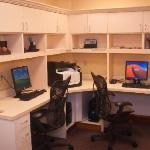 Complimentary 24-hour business center, with PC & printing access