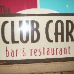 Club Car Sign