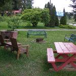 Barbecue/Picnic area - nice!