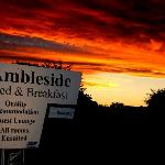 Sunset at Ambleside