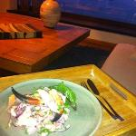 My second ceviche, Cesar it was delicous!