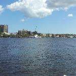 View of downtown Wilmington from Cape Fear River