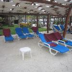 """Empty """"reserved"""" chairs...too many to count"""