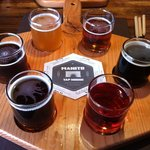beer paddle sampler