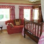 The Mahogany Room Bedroom. A double en-suite room.