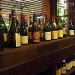 beaux choix de vins