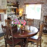 The dining room where breakfast's served