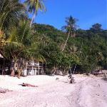the Leela beach