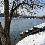 Im Winter an der Donau