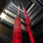 """Sparks"" lighting in Casino Lobby"