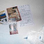 Información del hotel, plano y guía de obsequio