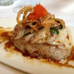 sashimi appetizer ... DELISH !