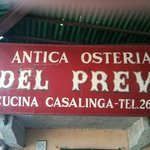 Photo de Antica Osteria del Previ