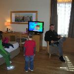 Kids liked big TV's