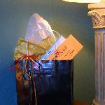 Gift Certificate Bag