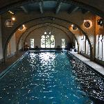 GRAND INDOOR SWIMMING POOL