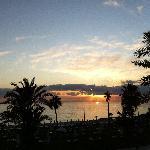 Sunset in Akti
