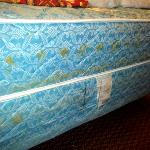Water marked mattress
