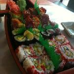 spicy tuna w/ crunch roll