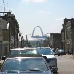 View of the Arch from Crown Candy!