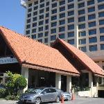 หน้าโรงแรม