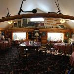 Main floor of the lodge