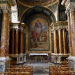 Cybo Chapel at Santa Maria del Popolo