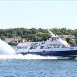 Fast ferry from St. Ignace to Mackinac Island