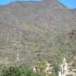 Mountains Behind Inn