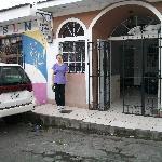 Hotel Posada del Bailante: Front Entrance