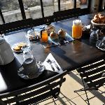 Le plein de soleil à table...