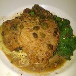 veal piccata - portion is huge - I only ate half.