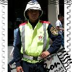 A traffic agent of Guatemala