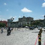 Main park and  the City Hall