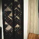 their wine rack
