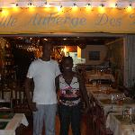 Owner and waitress