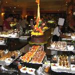 dessert at the buffet - well over 100 dishes