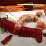 lobster pineapple tuna roll