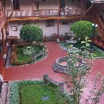 Vista del patio principal
