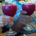 Prickly Pear Margaritas